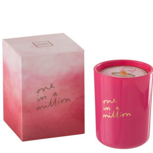 Geurkaars Million Roze 55u