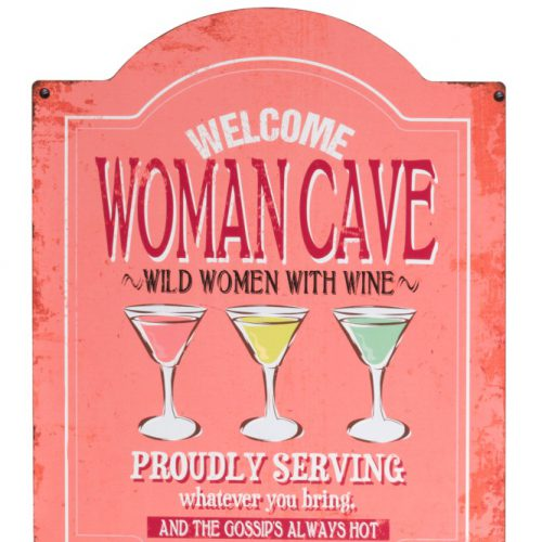 Tekstbord Women Cave