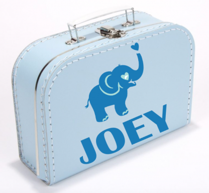 Koffer Olifantje Blauw