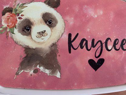 Broodtrommel Panda met naam