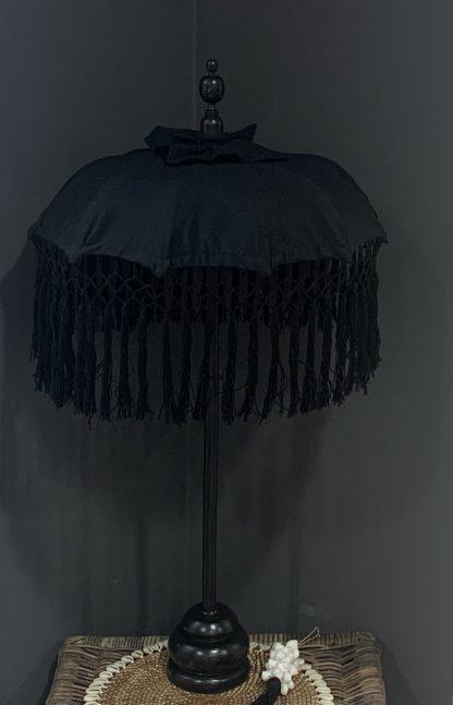 Tafel Parasol Ibiza Zwart