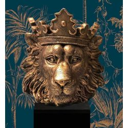 Bloempot Leeuwen kop