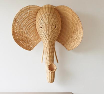 Rattan olifant