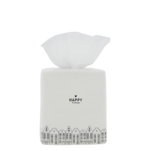 Tissue Box White Dutch Houses