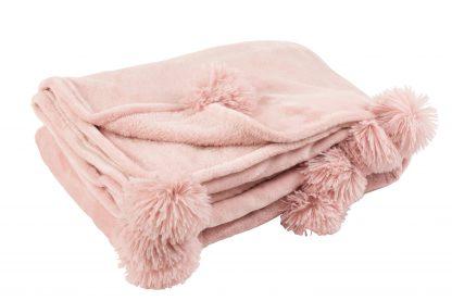 Pom Pom Kleed Baby roze