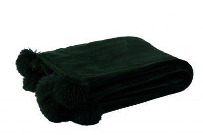 Pom Pom Kleed Zwart